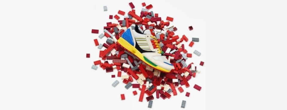 Chaussures adidas et LEGO dévoilent une collab' de sneakers colorées