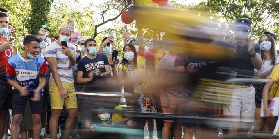 Jardin Usure, édile et interminable ascension, le Tour de France à l'assaut du Sizable Colombier