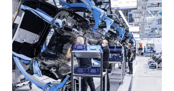 High-tech [Vidéo] Mercedes-Benz se dote d'une usine excessive tech, Manufacturing facility 56, pour assembler la nouvelle Classe S