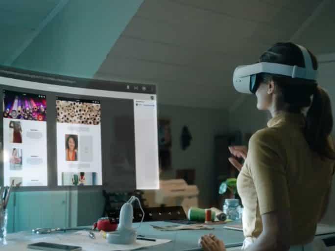 Bureau Put of enterprise : avec Infinite Put of enterprise, Fb pousse le bureau en VR