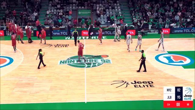 Basket Basket – Jeep Élite – Jeep Élite : le résumé vidéo de Nanterre – Bourg-en-Bresse