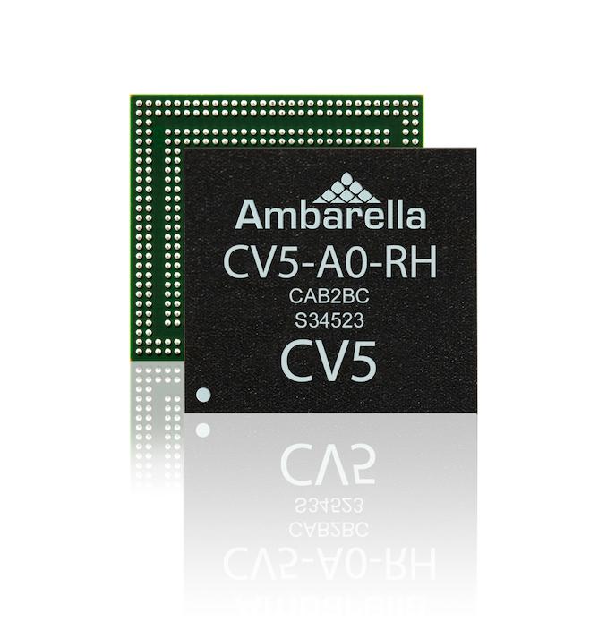 Maillot de bain CES 2021:Ambarella发布CV5 5nm 8K AI视觉处理器 能效比惊人 – AI 人工智能 – cnBeta.COM