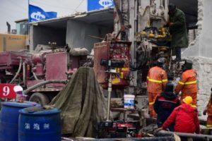 Maillot de bain Rescatados 11 de los mineros atrapados en una mina de oro en China