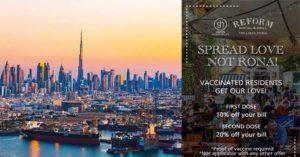 Maillot de bain Dubai : Le cadeau des restaurateurs pour les vaccinés contre Covid-19