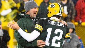 Maillot de bain Brett Favre: Despite Aaron Rodgers' comments, 'no device' Packers would risk losing QB