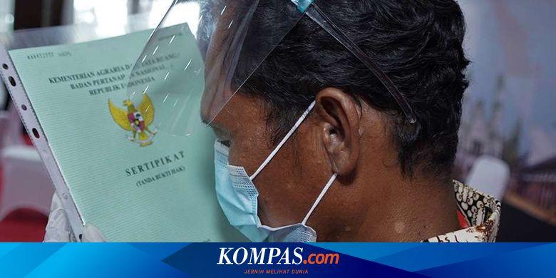 Maillot de bain Siap-siap, Seluruh Sertifikat Tanah Asli Bakal Ditarik ke Kantor BPN Halaman all – Kompas.com