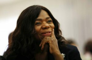 Maillot de bain Thuli Madonsela receives French knighthood from President Macron