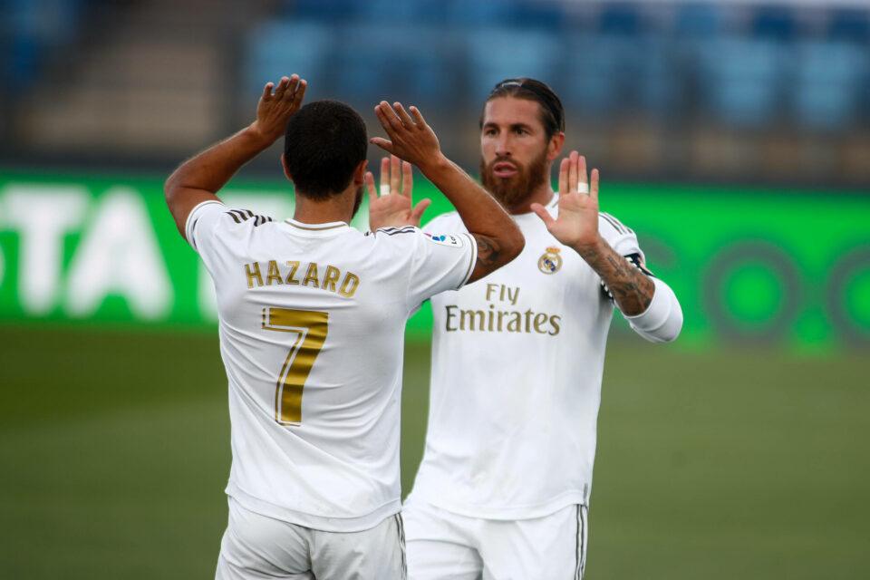 Maillot de bain Exact Madrid mai primește încă o lovitură după accidentarea lui Eden Hazard » Sergio Ramos, operat