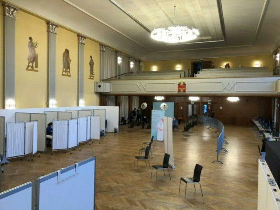 Maillot de bain Erstes Fricktaler Impfzentrum ist in Rheinfelden in Betrieb
