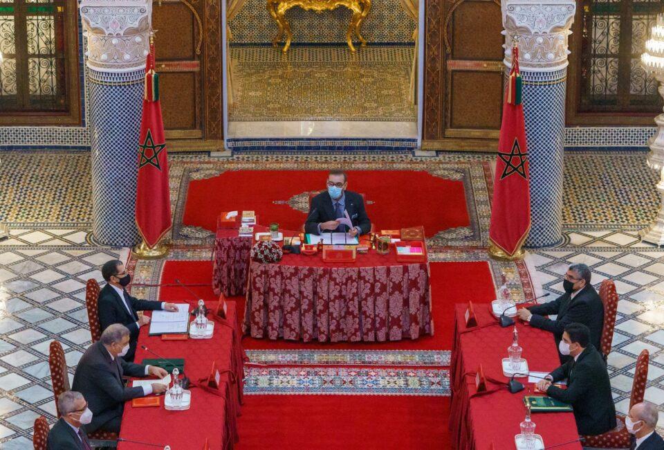 Maillot de bain Le Roi préside un Conseil des ministres dédié à l'adoption de textes juridiques et d'accords internationaux