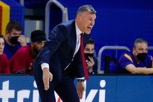 """Maillot de bain Š. Jasikevičius po vos laimėto taurės mačo pliekė build: """"Neparuošiau komandos, atrodė, į pusfinalį nepateksime"""""""