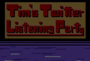 Maillot de bain Tim Burgess Listening Occasions Are Now An 8-Bit Computer Sport