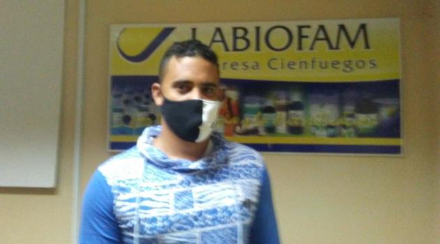 Maillot de bain Alejadro Rodríguez Suárez, líder de productos veterinarios naturales en Labiofam