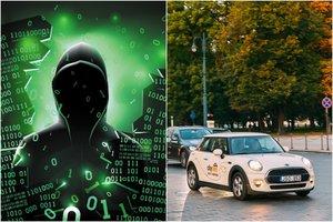 """Maillot de bain Internete nutekinta """"CityBee"""" vartotojų duomenų bazė: vardai, pavardės, asmens kodai"""