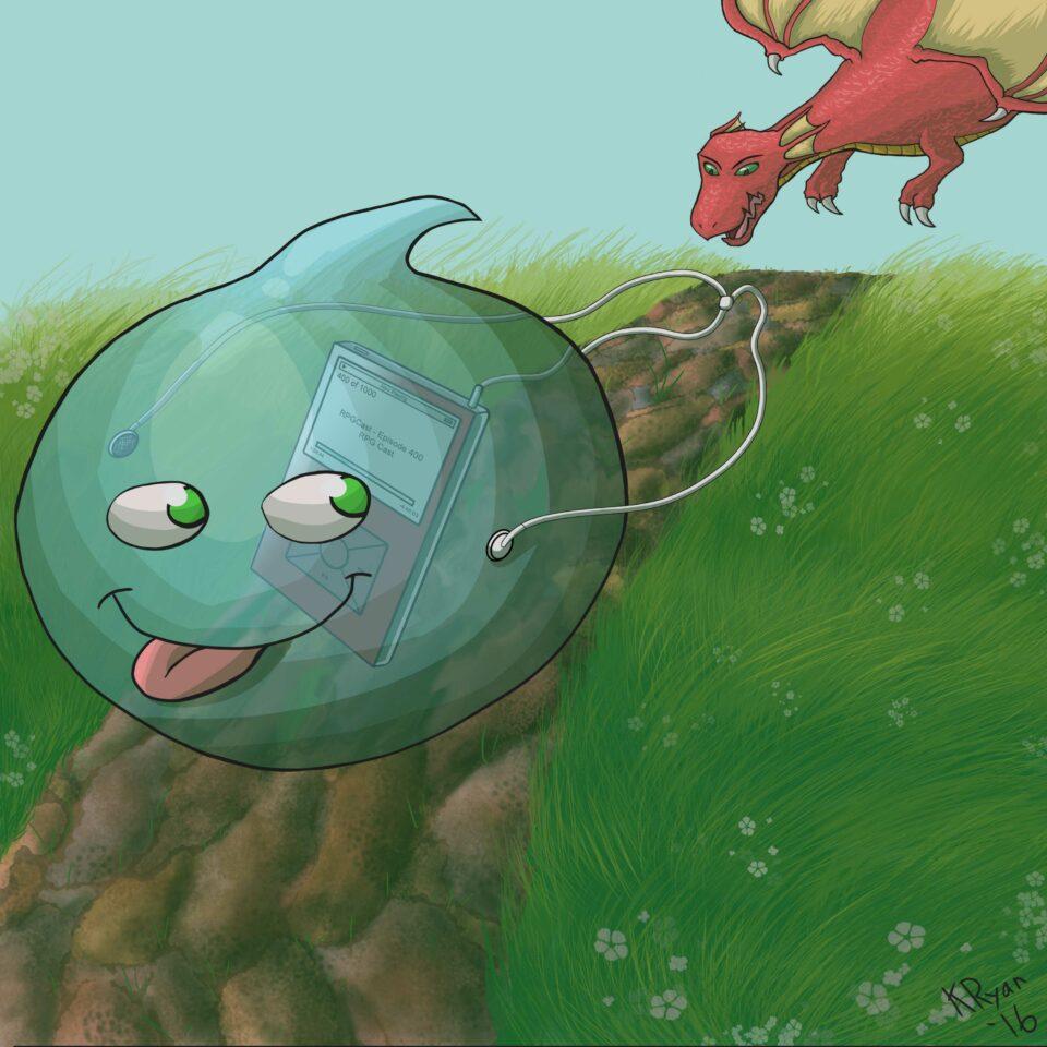 "Maillot de bain RPG Solid – Episode 531: ""Postage Tag Logo"""