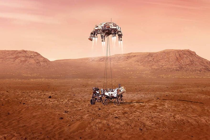 Maillot de bain Perseverance Has Landed! Mars Rover Begins a Novel Generation of Exploration