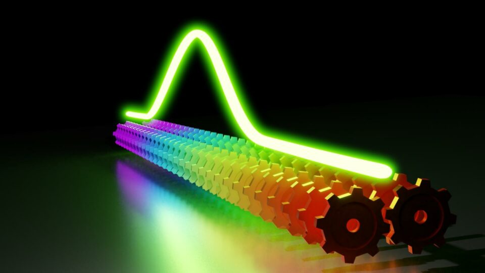 Maillot de bain Optical frequency combs stumbled on a original dimension