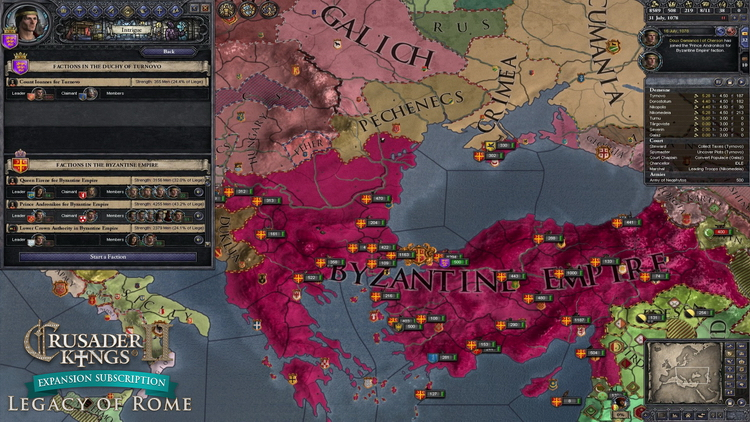 Maillot de bain Paradox запустила подписку на дополнения к Crusader Kings II
