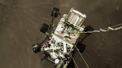 Maillot de bain NASA zverejnila vôbec prvý zvuk z Marsu a video z pristátia Perseverance