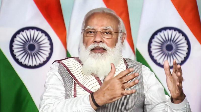 Maillot de bain Authorities engaged on four fronts to set up India wholesome: PM