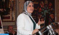 Maillot de bain Mme El Moussali présente les réformes lancées par le Maroc pour promouvoir les droits des femmes