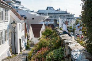 Maillot de bain Fjernet taket på 200 cruise-anløp til Stavanger i året