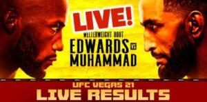 Maillot de bain UFC Vegas 21 Are dwelling Outcomes: Edwards vs. Muhammad