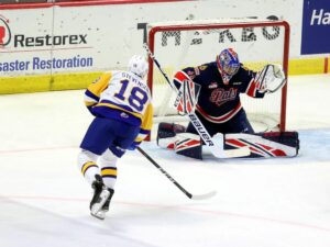 Maillot de bain Saskatoon Blades obtain the ultimate in 6-3 victory over Regina Pats