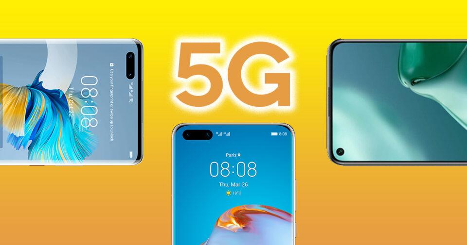 Maillot de bain Los mejores móviles Huawei con 5G: guía de compra