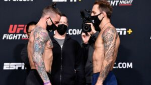 Maillot de bain Gillespie-Riddell off Fight Evening card as a result of COVID