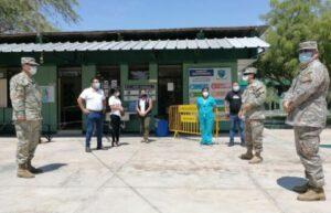 Maillot de bain Autoridades de Salud supervisaron centros de vacunación en Piura