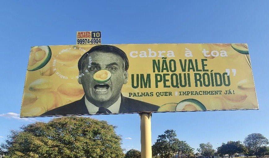 """Maillot de bain STJ mantém inquérito que apura comparação de Bolsonaro a """"pequi roído"""""""
