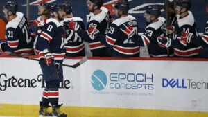 Maillot de bain Ovechkin ratings twice, purple-scorching Capitals shut out Devils 4-0