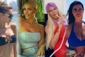 Maillot de bain Poznate žene nagrnule u Dubai: Za njih nema krize, uživaju u luksuzu, a koja najbolje izgleda?