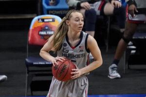 Maillot de bain UConn's Paige Bueckers Talks Arizona Loss, 2022 Nationwide Title Hopes