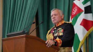 Maillot de bain Jordan's King Abdullah says civil strife has been averted