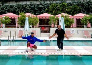 Maillot de bain Miami Seaside: Pharrell Williams y David Grutman inauguraron el Hotel Goodtime