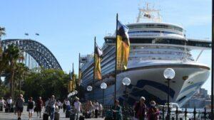 Maillot de bain Talks for trans-Tasman cruise ship restart