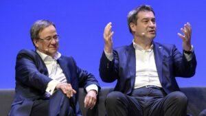 Maillot de bain Kanzlerkandidatur: Unionspolitiker fordern rasche Entscheidung
