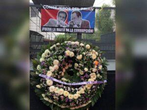 Maillot de bain Salgado Macedonio cube que no amenazó a funcionarios del INE