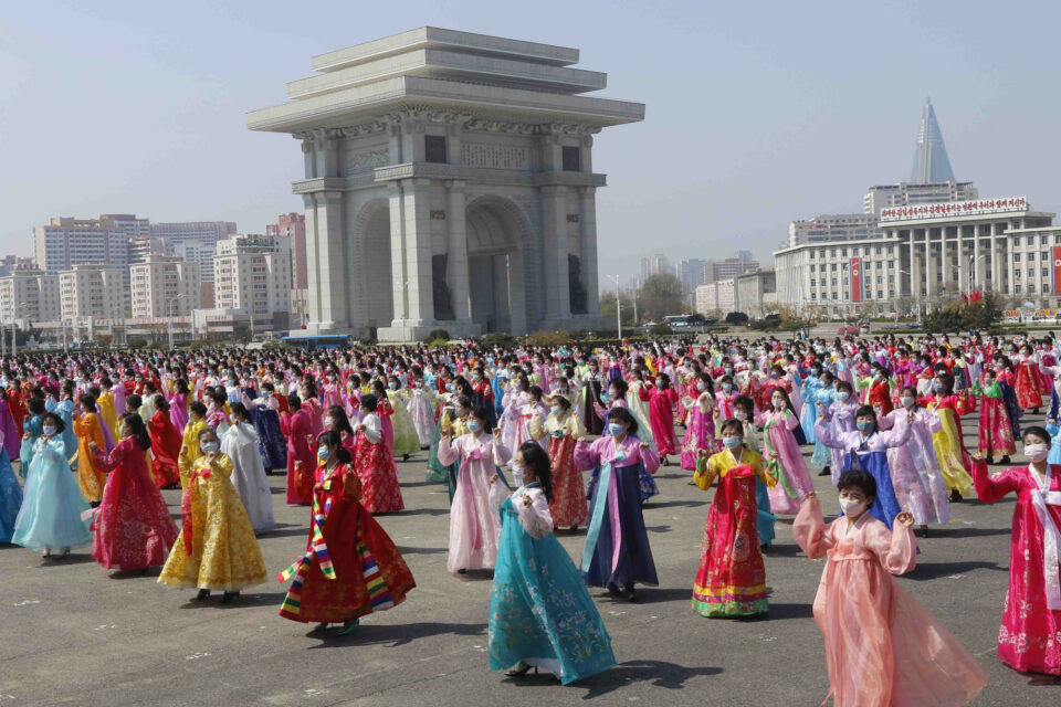 Maillot de bain N Koreans tag founder's birthday amid financial difficulties