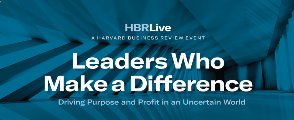 Maillot de bain Insights from HBR Live: Leaders Who Construct a Distinction – SPONSOR CONTENT FROM HARVARD BUSINESS REVIEW