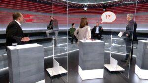 Maillot de bain In der Corona-«Enviornment» legt sich SVP-Matter sogar mit einem Gast aus der zweiten Reihe an
