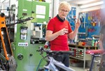 Maillot de bain Bedroht vom Fahrradboom: Tüftler und Unternehmer Jo Klieber