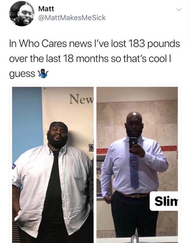 Maillot de bain This man lost 183 kilos in 18 months!