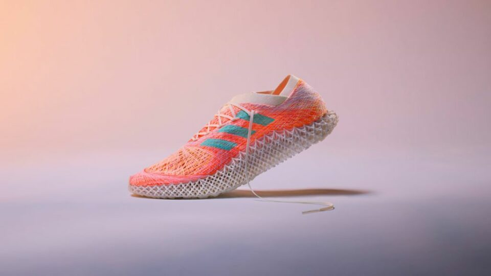Maillot de bain Adidas is creating robotic-woven sneakers with 3D-printed soles