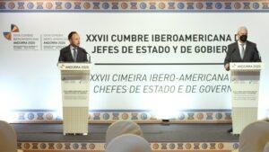 Maillot de bain Cumbre Iberoamericana de Andorra analiza escenario pospandémico