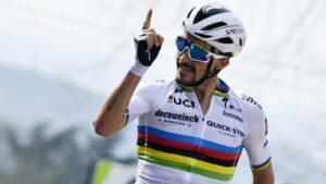 Maillot de bain Julian Alaphilippe remporte la Flèche wallonne pour la troisième fois de sa carrière