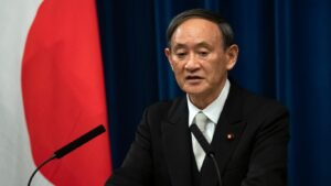 Maillot de bain Japan vows deeper emissions cuts ahead of White Residence summit