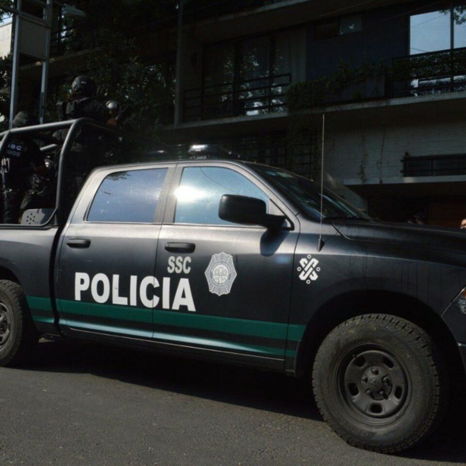 Maillot de bain Agreden a balazos a policías en Tlalpan; reportan ocho detenidos